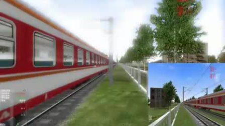 【海西铁协】MSTS沪宁1.5 K360次行车任务视频