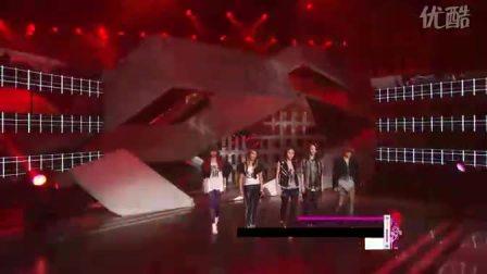 100515 MBC 音乐中心  f(x) NU ABO