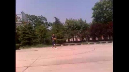 脚后跟投篮