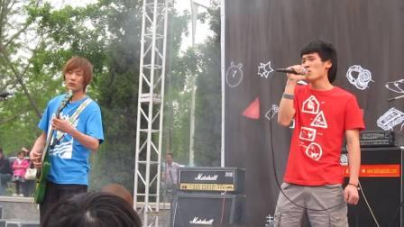 2010清华大学弦舞音乐节开场——发射器乐队