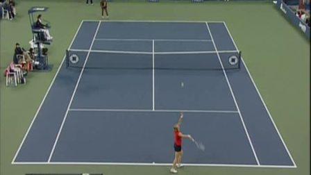 2009美国网球公开赛女单SF 小威廉姆斯VS克里斯特尔斯 (自制HL)