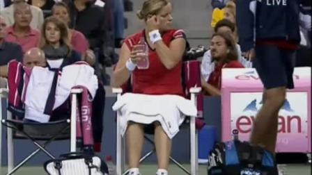 2009美国网球公开赛女单决赛 克里斯特尔斯VS沃兹尼亚奇