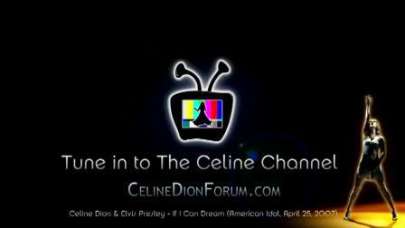 Celine Dion  Elvis Presley — If I Can Dream