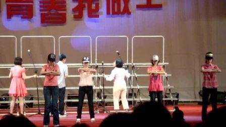 明光中学红五月初二女生舞蹈