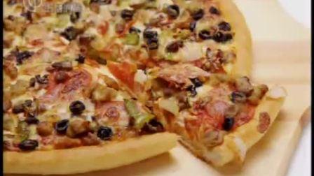 微波炉做美味披萨