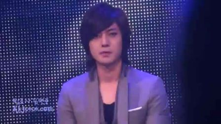 20100607 SS501 at TVN Newton Let me be the one