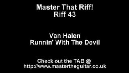 Van Halen Runnin With The Devil with Suhr Pro S3