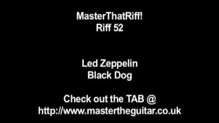 Led Zeppelin Black Dog——Suhr Pro S3