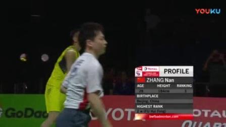 我在5月27日羽毛球汤姆斯杯决赛中国vs日本(BWF)截了一段小视频