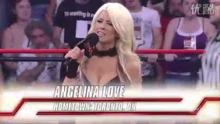 TNA Impact 2010年6月17日Angelina Love vs Lacey Von Er