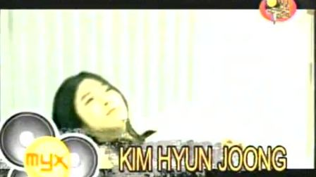 20100619 Kim Hyun Joong MYX Greeting