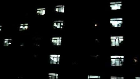 沈阳理工 灯语祝福寝室活动MISS