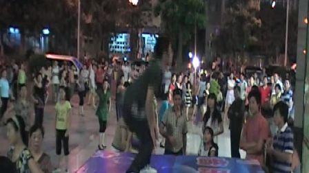 郭富城广场舞  芭啦芭樱之花舞 株洲平和堂广场 低碳运动