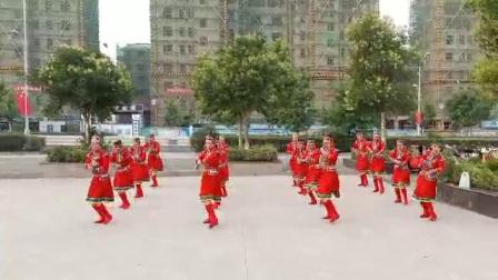 青叶舞蹈队蒙古舞12《马背上的思念》