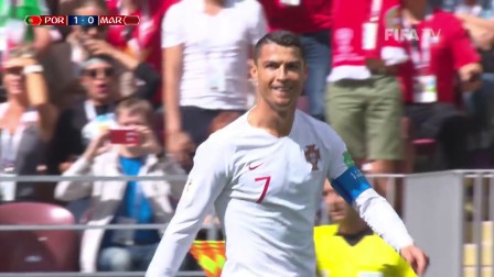 (1-0) Portugal v Morocco - 2018 FIFA World Cup Russia™ - MATCH 19