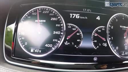 「巴博斯改装中心」火箭般的速度!奔驰S65 AMG改装升级巴博斯ROCKET 900,V12双涡轮结构,百公里加速只需要3.7秒!