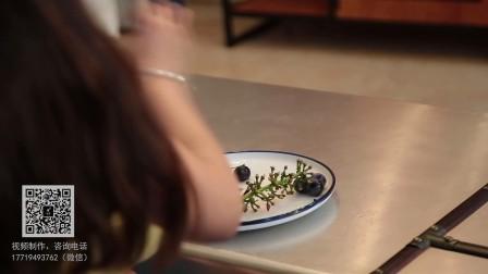 塑引代餐粉广告—水果代餐