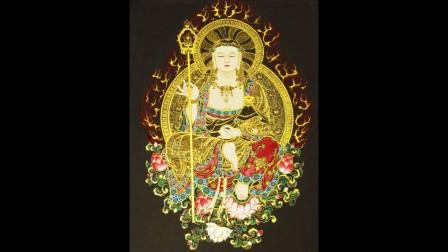 宣化上人领众诵地藏菩萨圣号