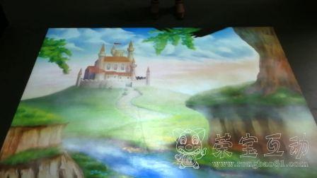 地面互动-丰富的内容造就不一样的地面投影游戏