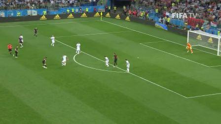 【读球师】Luka MODRIC Goal 阿根廷v克罗地亚