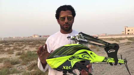 Tareq Alsaadi Charity my helicopter SAB Goblin Swiss Heli Challenge 2018