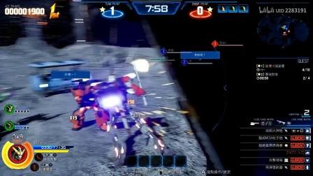 【转载Vesperia-】《新高达破坏者》一周目唯线全剧情流程视频攻略 - 7.盾与零的对决