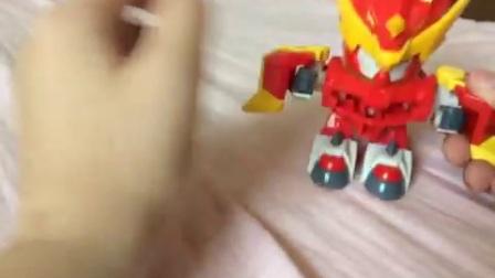《激战奇轮》第2期,烈焰爆炫神标靶套装,玩具介绍。