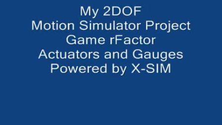 Obutto 终极改装动感模拟器 motion simulator