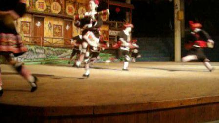 广东清远连南瑶族舞蹈表演