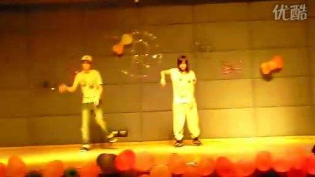 101027 暨大RG舞协成立party 珠海Street Mark导师表演