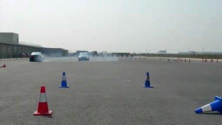 宝马M传奇体验日M3漂移表演-新车评网现场报道