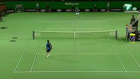 2005澳大利亚网球公开赛男单决赛 萨芬VS休伊特 (自制HL)
