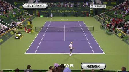 ATP.2011.Doha.F.Davydenko.vs.Federer HL