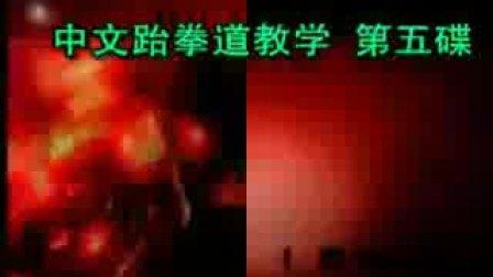 【侯韧杰  TKD  教学篇】之 崔永福跆拳道5