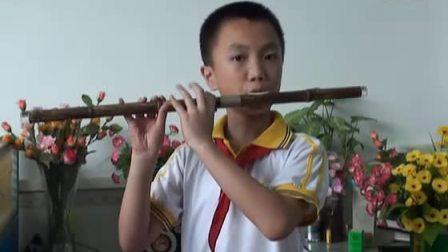 钟起珍老师的学生黄俊豪演奏的巴乌曲《傣乡情歌》