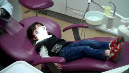 2岁半的小布丁第一次看牙1