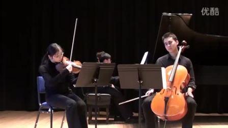 黎卓宇(George Li)演奏Bolcom的春天钢琴三重奏