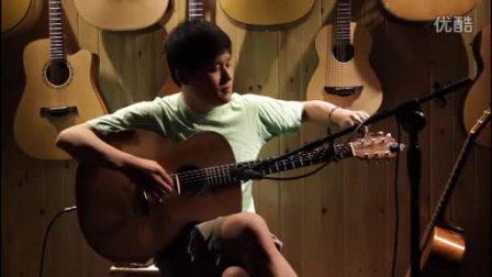 湖南长沙指弹吉他群友会4,何康表演《无为》