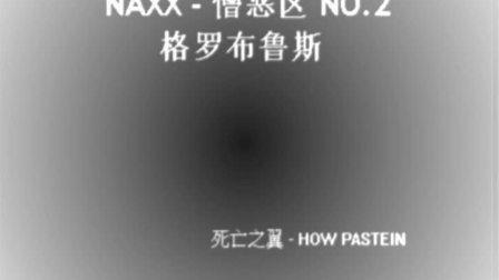 WOW 一区 死亡之翼 60年代 HP公会 NAXX 憎恶区2