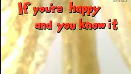 经典英文卡通儿歌》8《If you are happy and you know it》