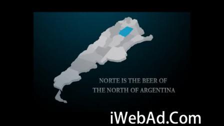 【营销案例 】阿根廷啤酒饮料消费一杯啤酒就做一分钟公益活动