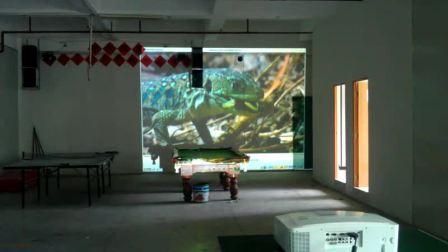VIVIBRIGHT Large Projector test For PLF8100F_08