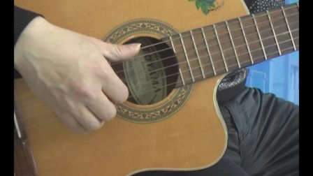 最易学的吉他速训教程视频演示13-16页练习