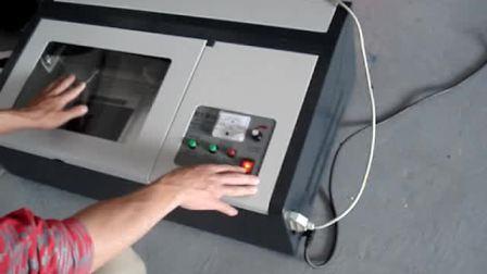 激光印章机laser engraver(www.ld-sz.com)