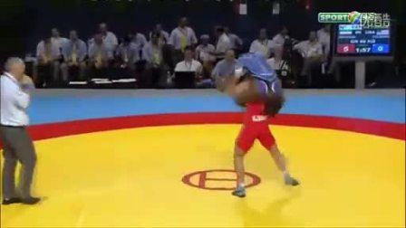 【侯韧杰  MMA  精华篇】之 惊天一技