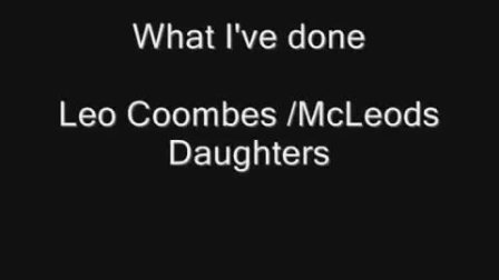 Leo Coombes - What I've Done