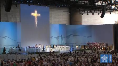 教宗方济各在瑞士日内瓦主持弥撒全影片2018-06-21