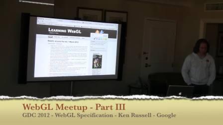 WebGL Meetup Part III