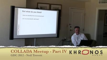 COLLADA Meetup Part IV