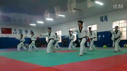【侯韧杰  TKD  教学篇】之  培训考段
